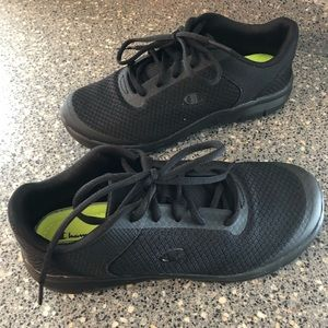 Black champion sneakers